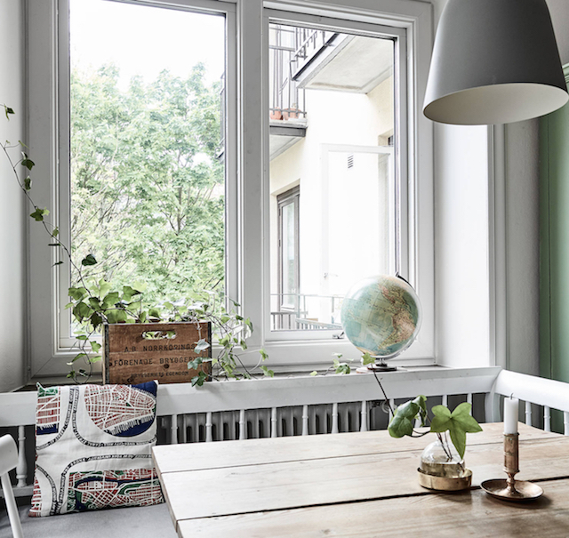 home inspiration a touch of green 9