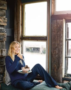 dinner inspiration: GWYNETH PALTROW'S CARROT SOUP WITH GINGER