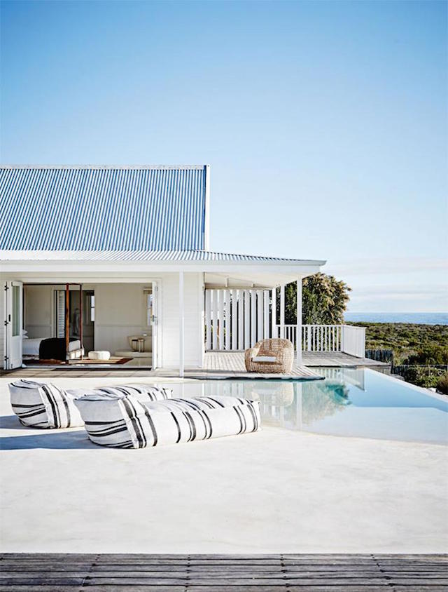 home inspiration - white beach house 3