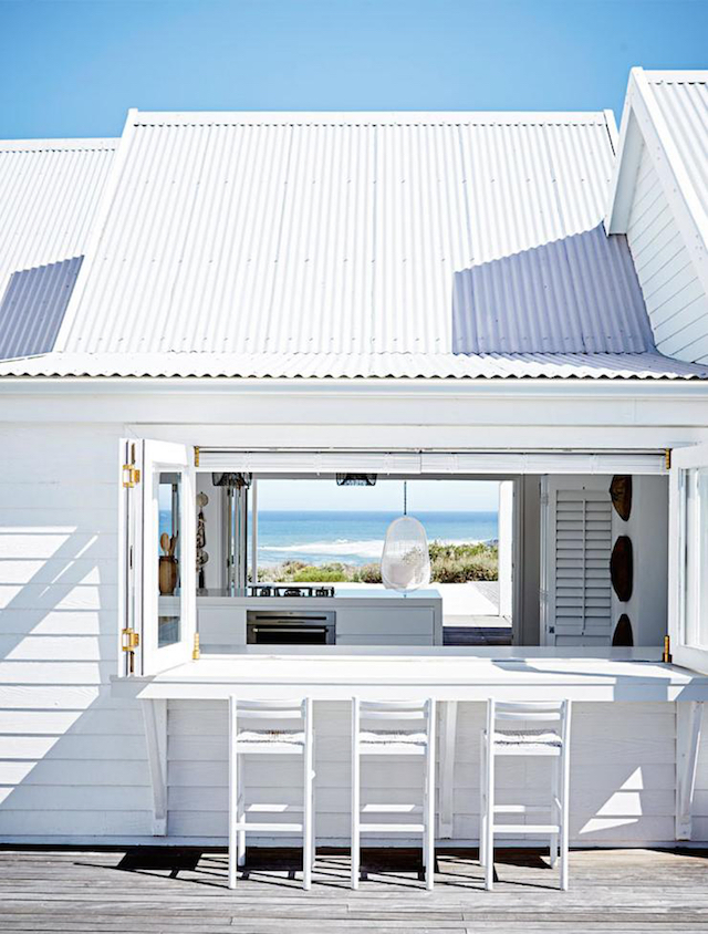 home inspiration - white beach house 8
