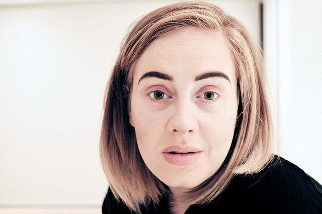 MAKE-UP FREE ADELE