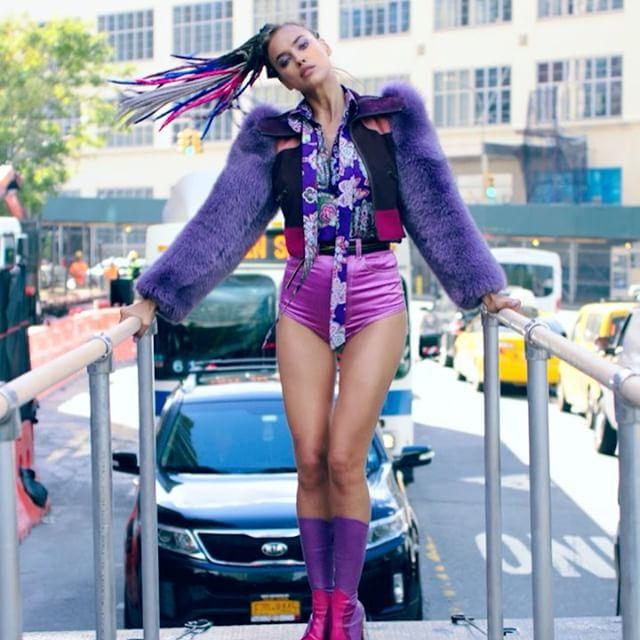 Vogue-2016-George-Michael-Freedom-Video-Irina-Shayk-Marc-Jacobs