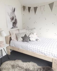 home inspiration:<BR> GREY &#038; WHITE KIDS BEDROOMS