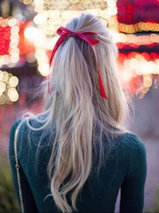 how-to: holiday HAIR