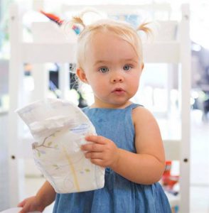 #babynews:<BR> THE ULTIMATE NAPPY LAUNCH