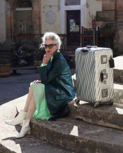 #travel tales : LINDA RODIN X TUMI