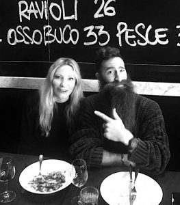 ny diary: LUNCH WITH JIMMY NIGGLES FROM BEARD SEASON