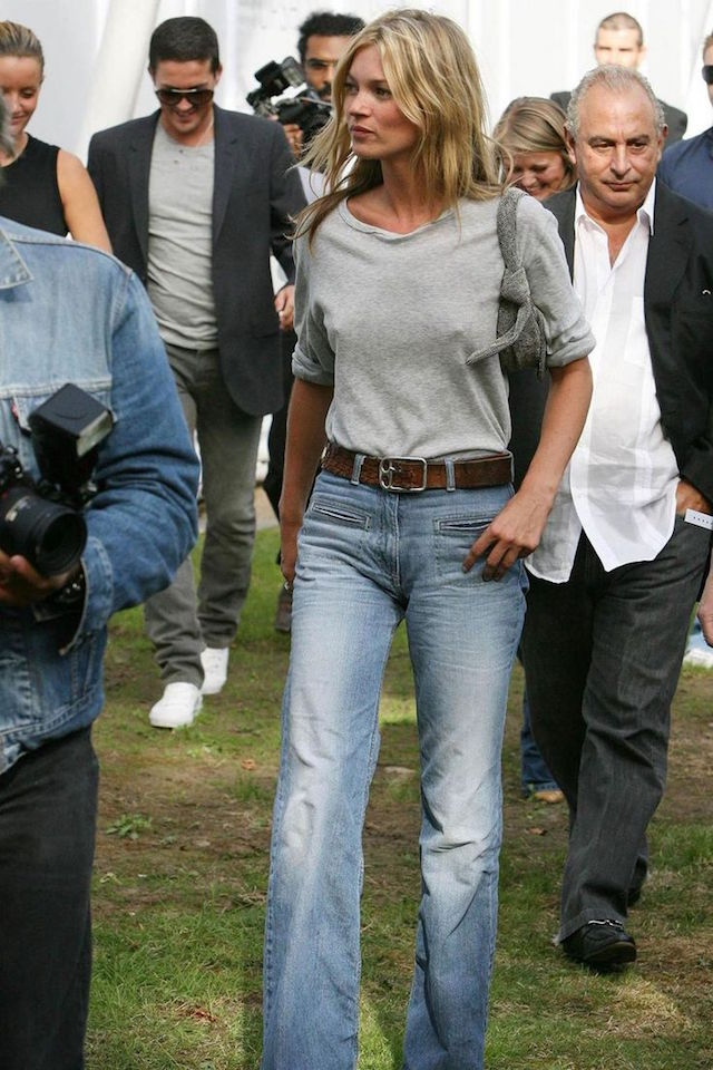 sunday style: KATE MOSS DENIM
