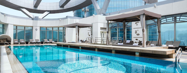 HK_Cordis Rooftop Pool