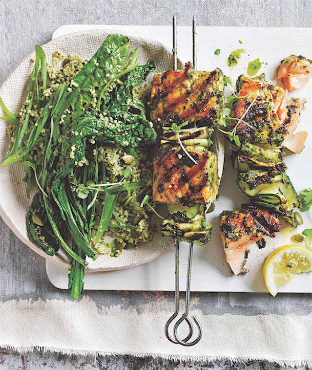Pesto-salmon-skewers-with-green-couscous-salad_FL4