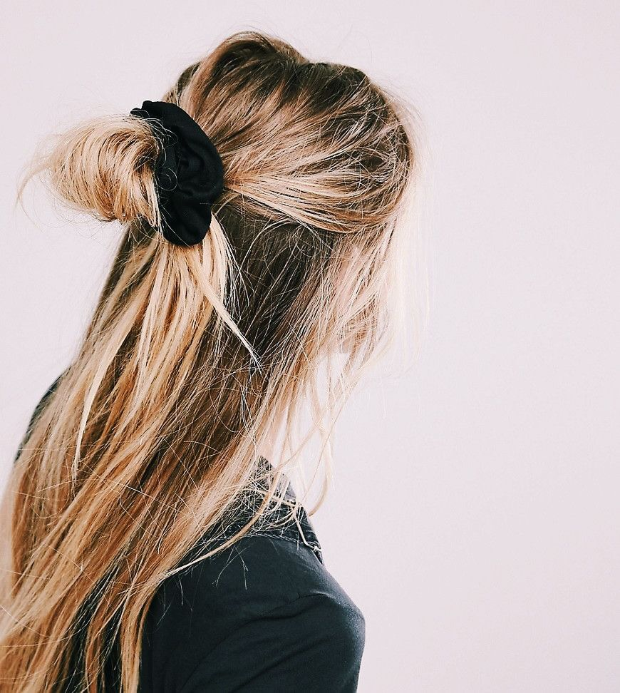 Hair In Style: {hair} Style File: SCRUNCHIES ARE BACK : Bellamumma