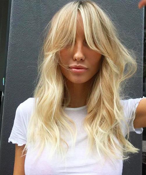 Hair Trend News Curtain Bangs Bellamumma